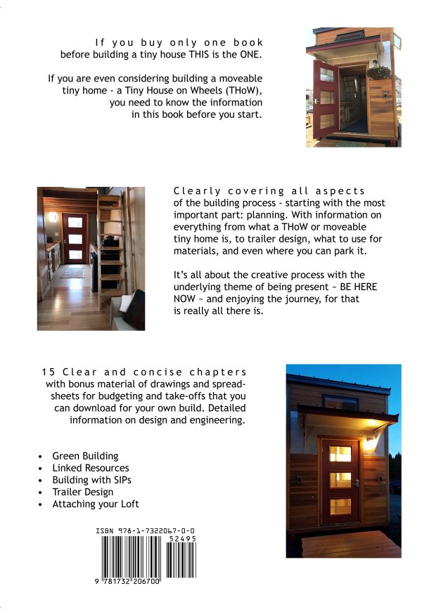 Building your Movable Tiny House with Mindfulness_Back cover