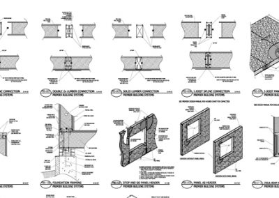 SIP construction drawings